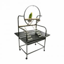 The O Parrot Playstand White,