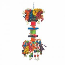 Large Furry Monster Bird Toy,