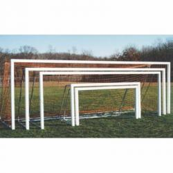 Goal Sporting Goods Square Post Aluminum Official Soccer Goals - Pair