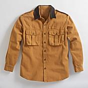 Explorer's Rugged Canvas Shirt