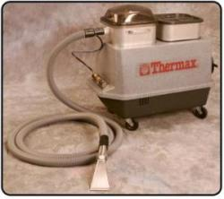 Thermax CP5 Hot Water Injection Vacuum Extraction Carpet Cleaning System, 15' Hide-A-Hose, BuiltOn Easy Grip Stainless Steel Detailer, Contractor PKG*